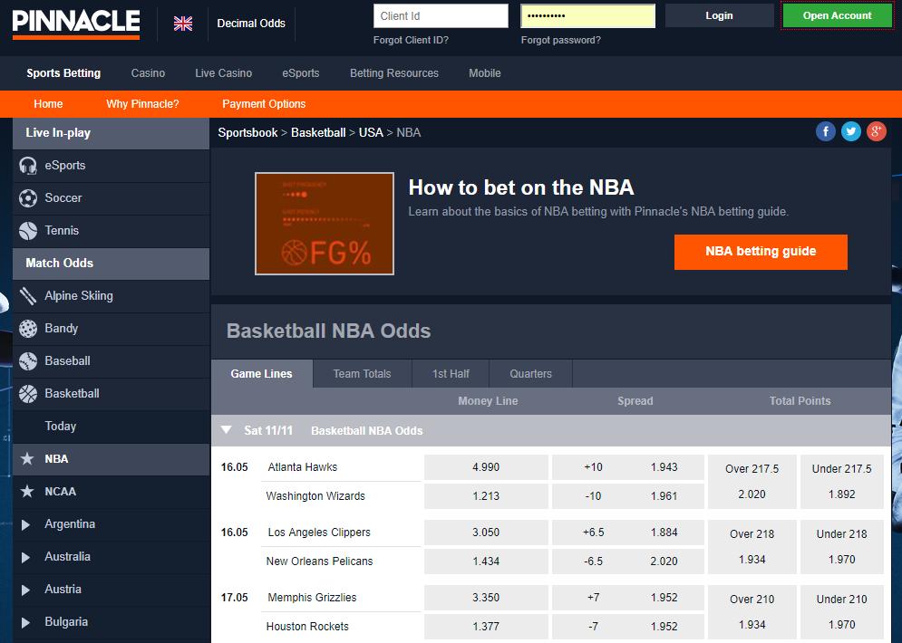 Pinnacle betting review mauro betting sobre netobjects