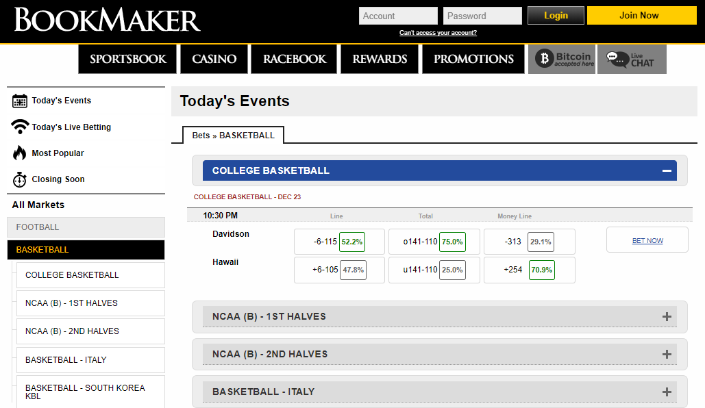Bookmaker eu Review  | No Limit Bookmakers | Are Bookmaker