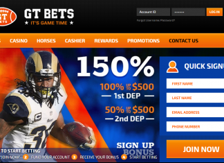 gtbets homepage